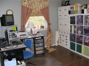 My multi-functional craft room.