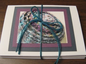 Knitting notecards make a nice gift for the knitters in your life.