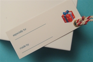 Use your moo cards for Gift Tags.