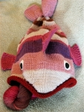 Fish Hat decides Sereknity Yarn tastes better.