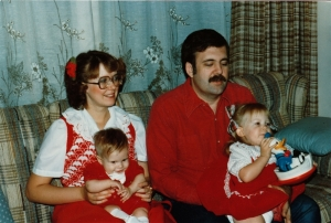 Dee & George with Kids