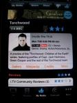 iTV Torchwood Screen