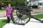 Dee with Cannon
