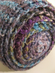 End Roll Noro Striped Scarf #1