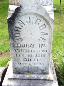 Johann Graf's Grave