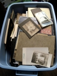 Tub of Old Photos
